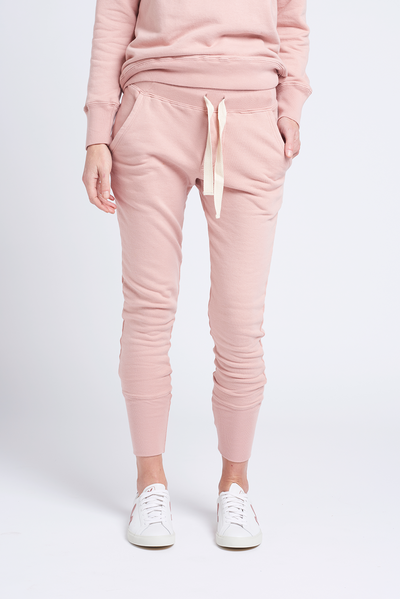 Organic Crew Dusty Pink Pants