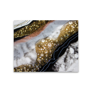 Alchemy elegance abstract canvas art print.