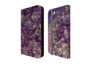 Amethyst Dreams - Flip Phone Case