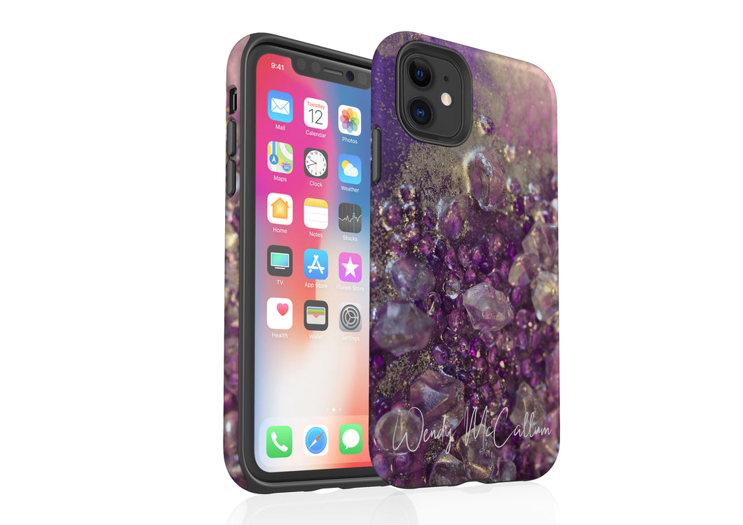 Amethyst Dreams - Tough Phone Case