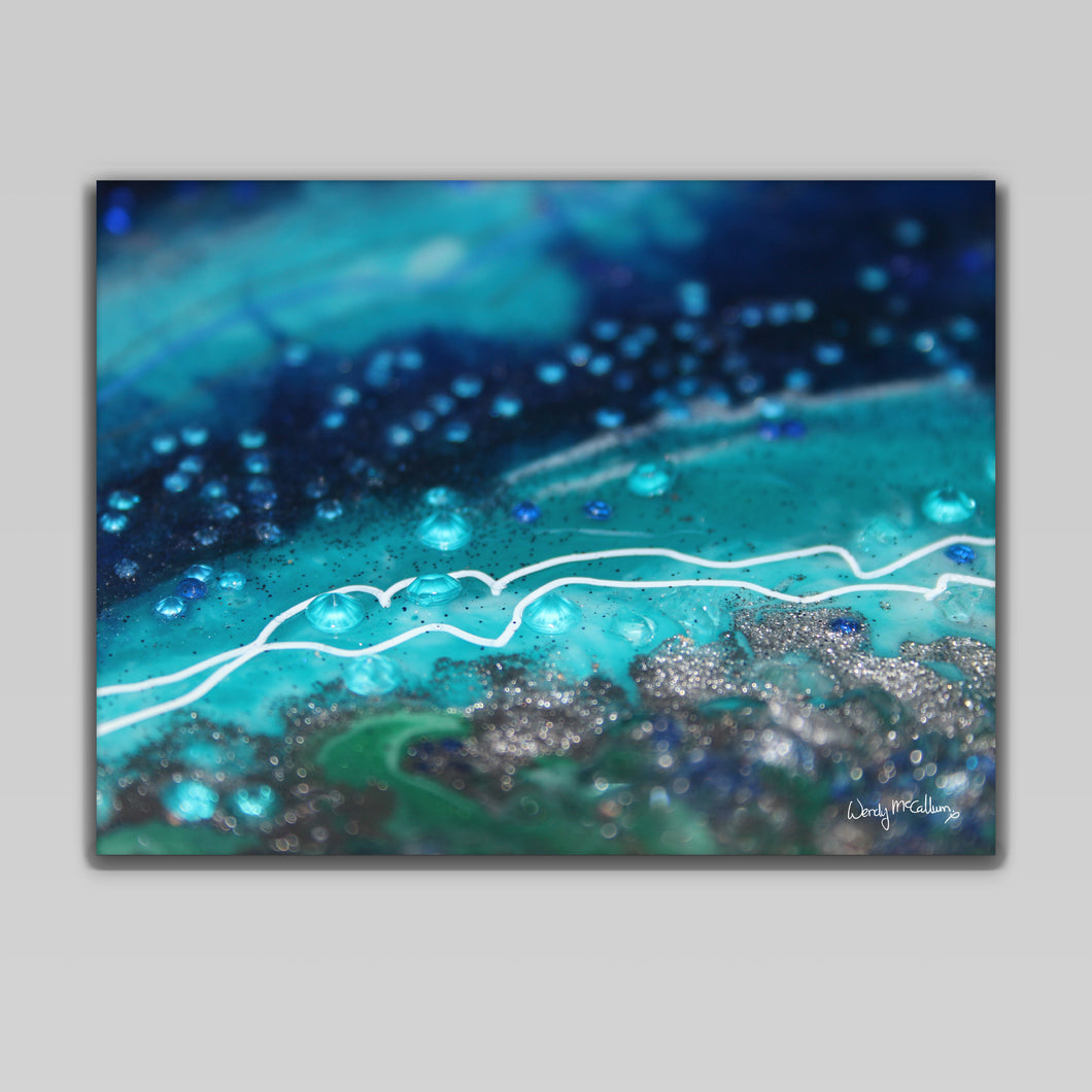 Archipelago Canvas Wall Art - Grace