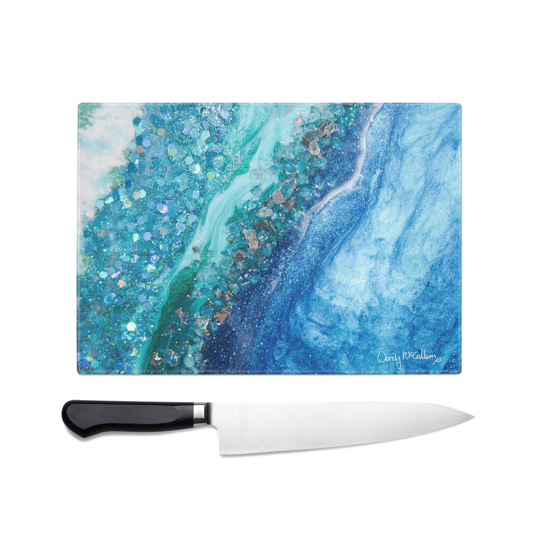 Elucidation Glass Chopping Board - Opulence