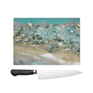 Dioptase Glass Chopping Board - Elegance