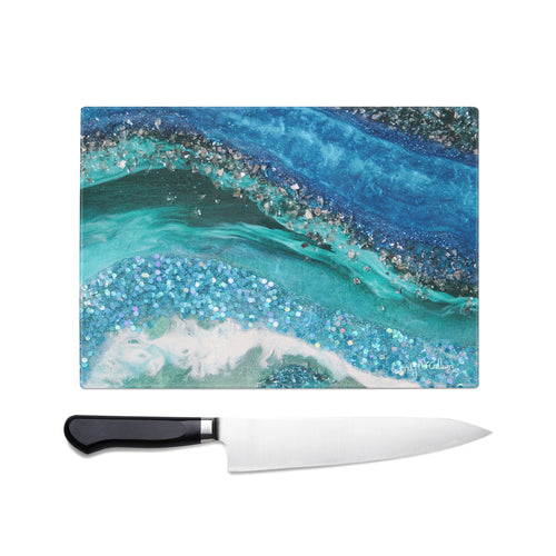 Elucidation Glass Chopping Board - Grace