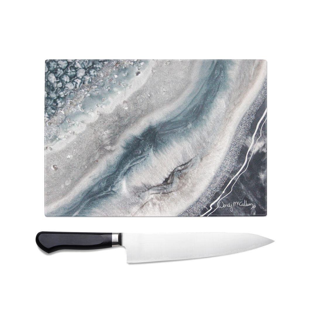 Vista Glass Chopping Board - Grace