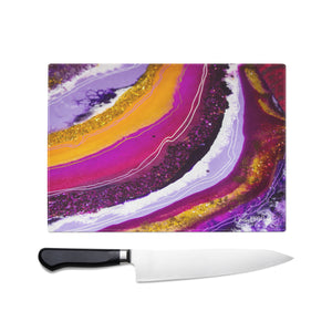 Inception Glass Chopping Board - Opulence