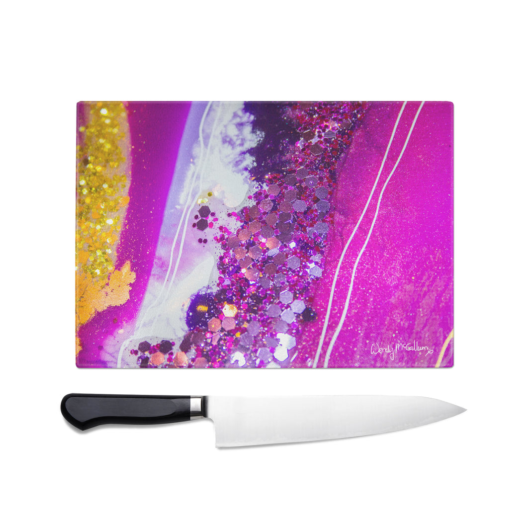 Inception Glass Chopping Board - Elegance