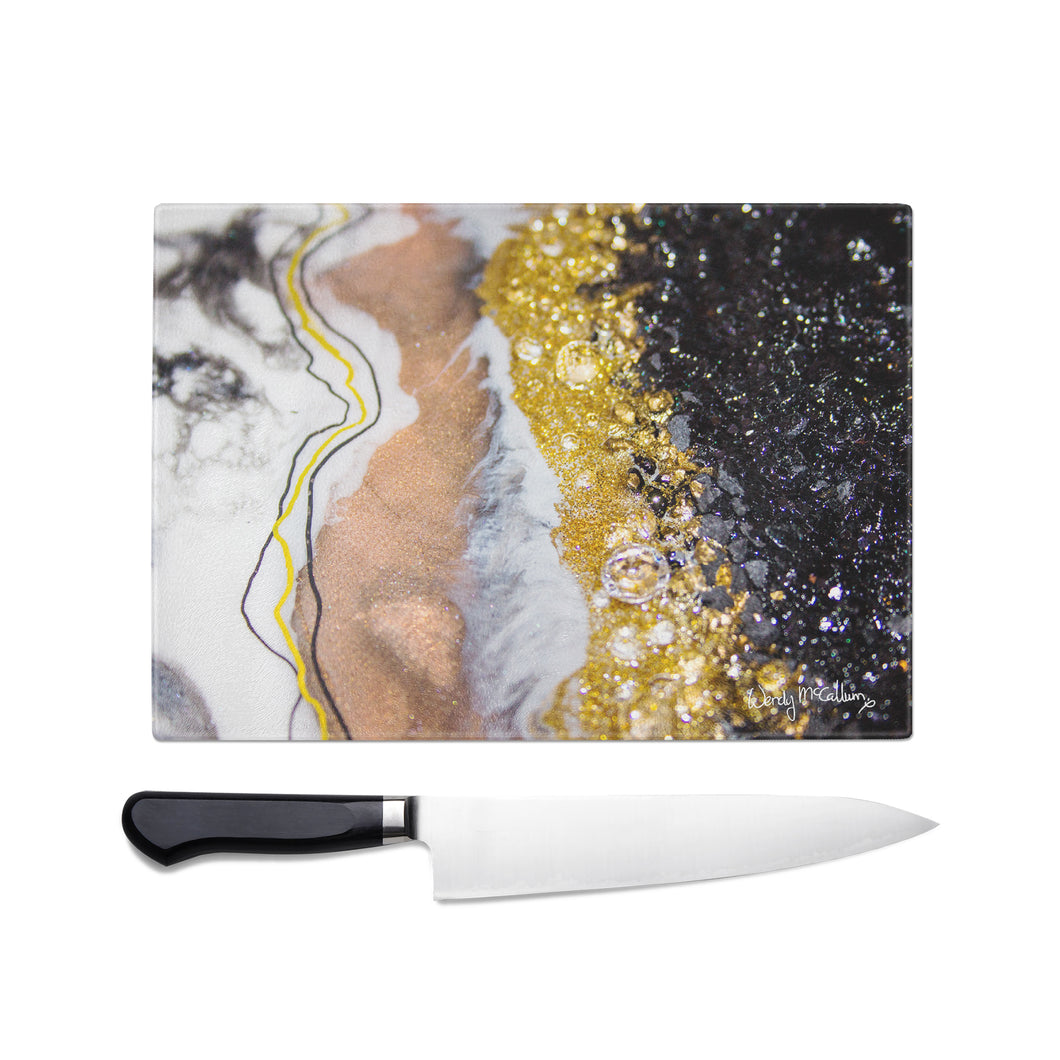 Alchemy Glass Chopping Board - Grace