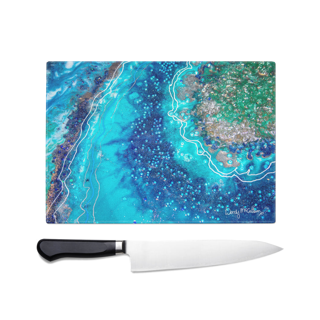 Archipelago Glass Chopping Board - Opulence