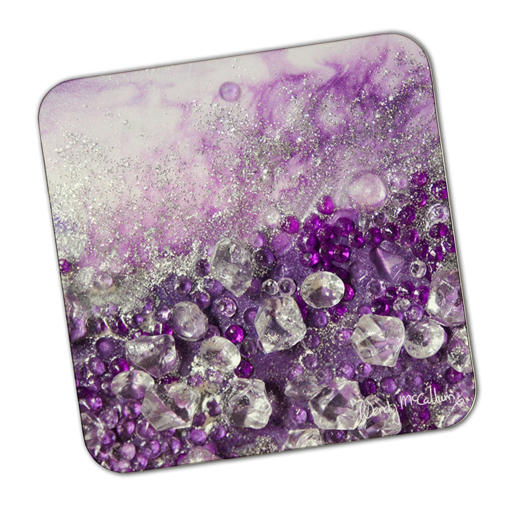 Amethyst Dreams Coaster - Elegance