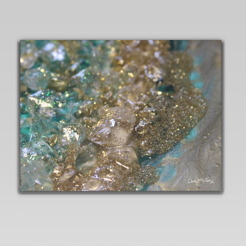 Dioptase Canvas Wall Art - Opulence