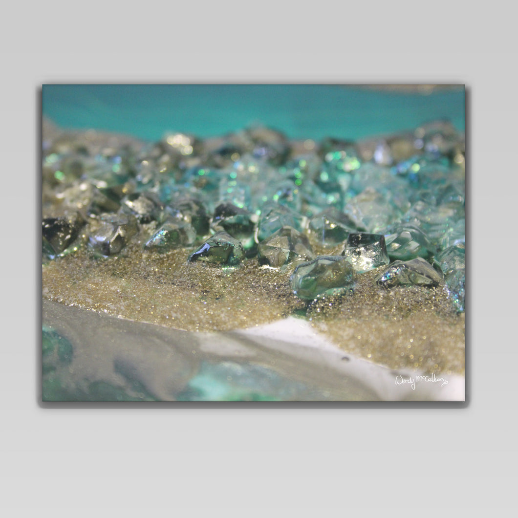 Dioptase Canvas Wall Art - Elegance