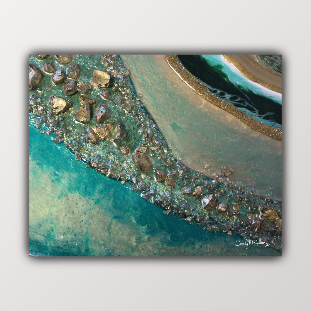 Dioptase Grace fine art print by Wendy