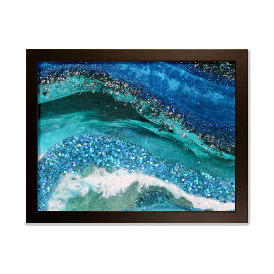 Elucidation framed print - Grace