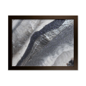 Grey Moonstone - Grace framed prints