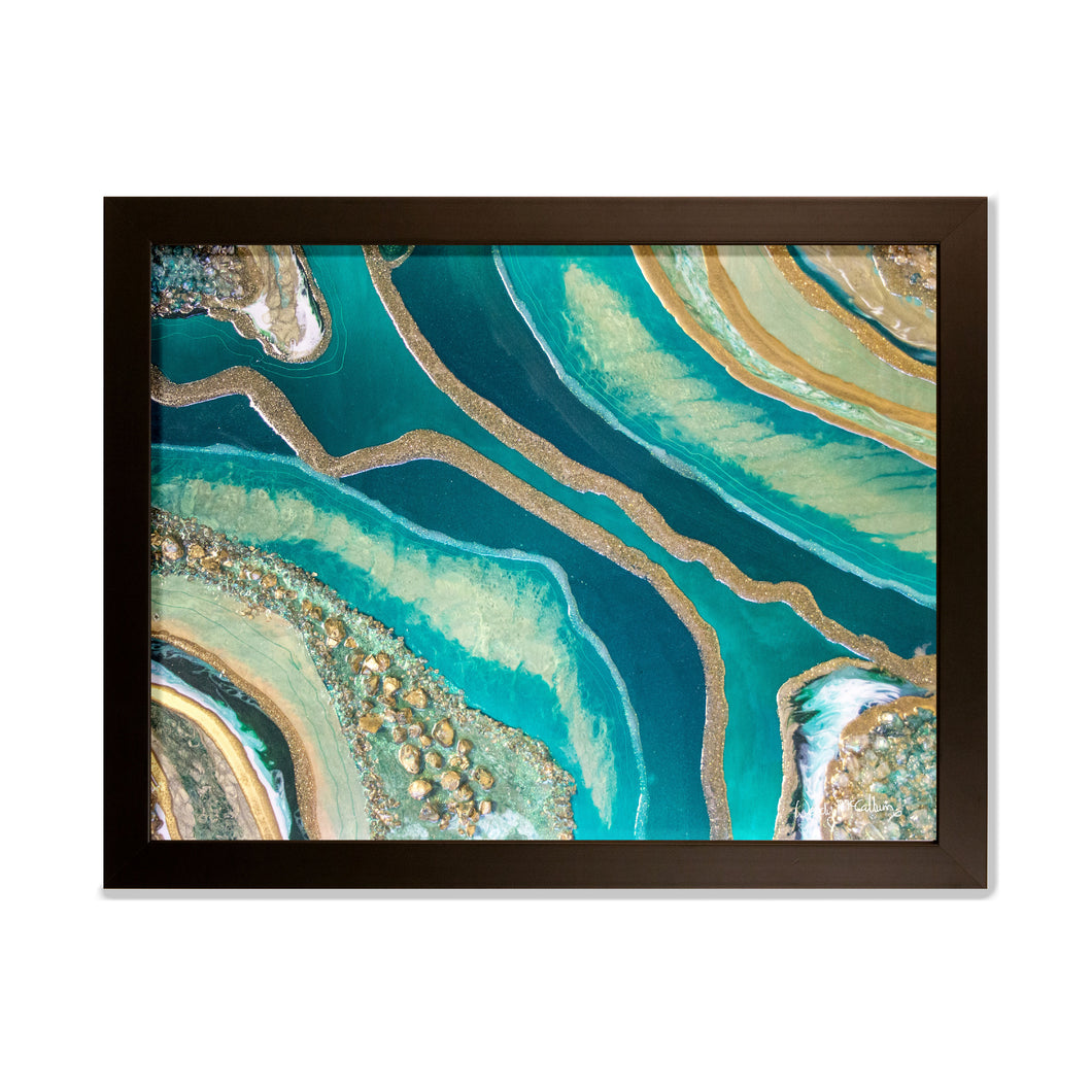 Dioptase - Splendour wall art framed prints