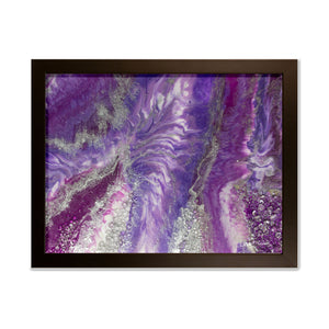 Amethyst - Splendour wall art framed print
