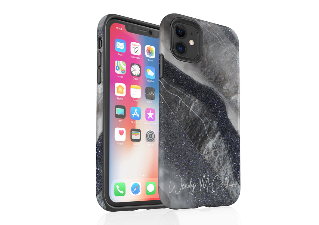 Grey Moonstone - Tough Phone Case