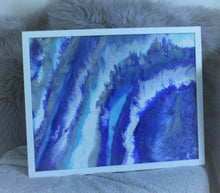 Load image into Gallery viewer, Empyrean in white bespoke hand made frame