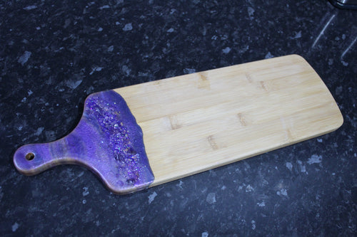 Amethyst Crystal Serving board - Medium