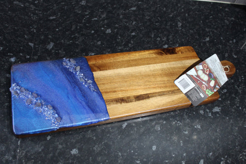 Tanzanite Acacia Serving board - Large