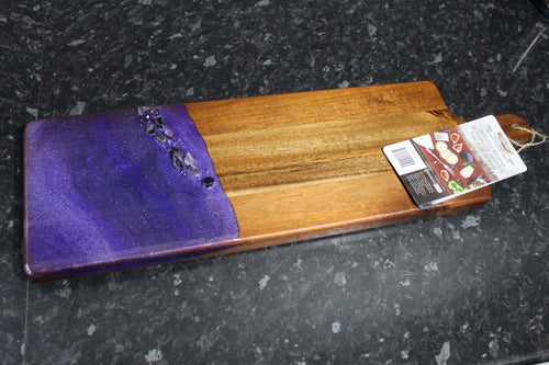 Amethyst Acacia Serving board - Large