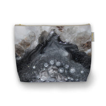 Load image into Gallery viewer, Grey Moonstone Make Up Bag - Elegance