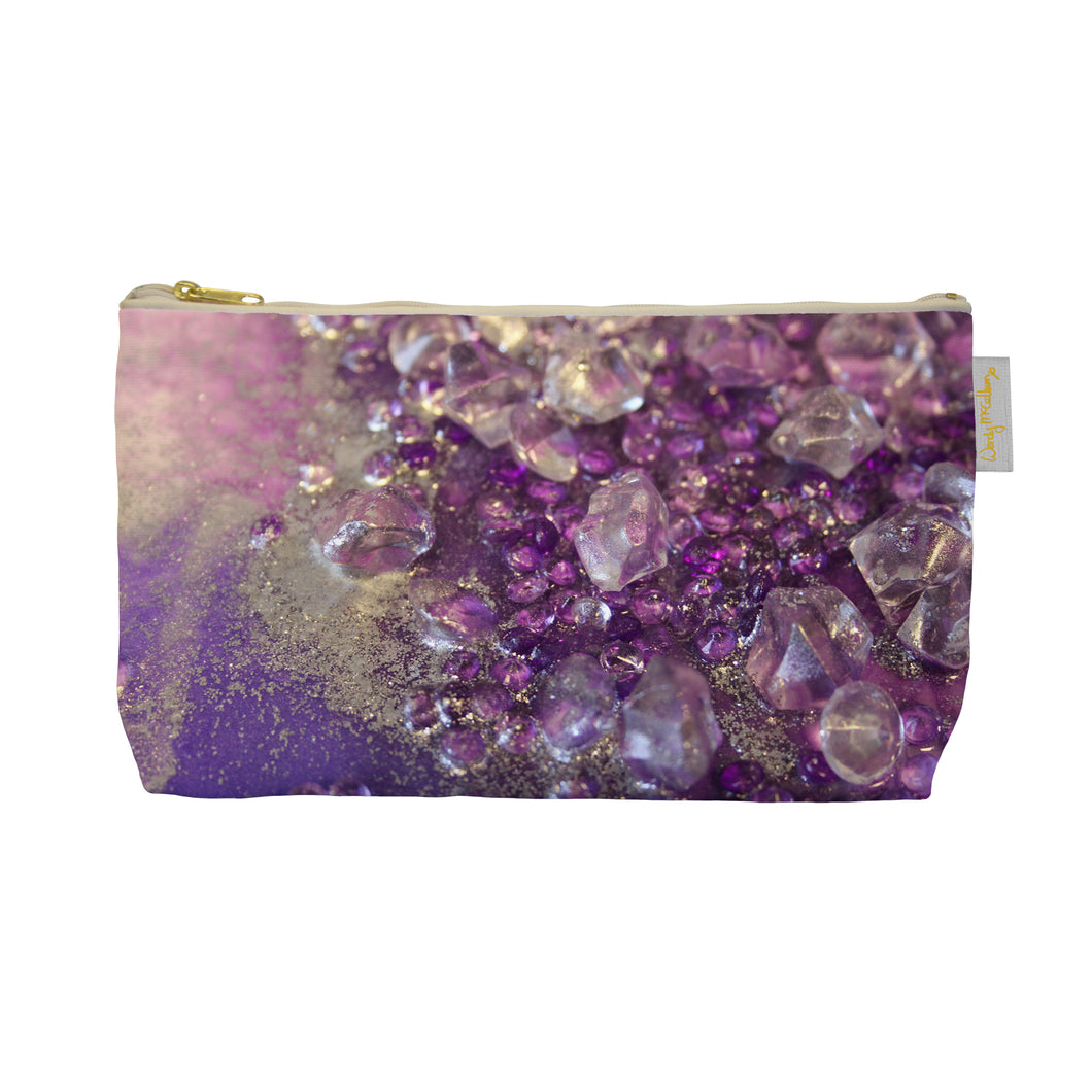 Amethyst Dreams Make Up Bag - Opulence