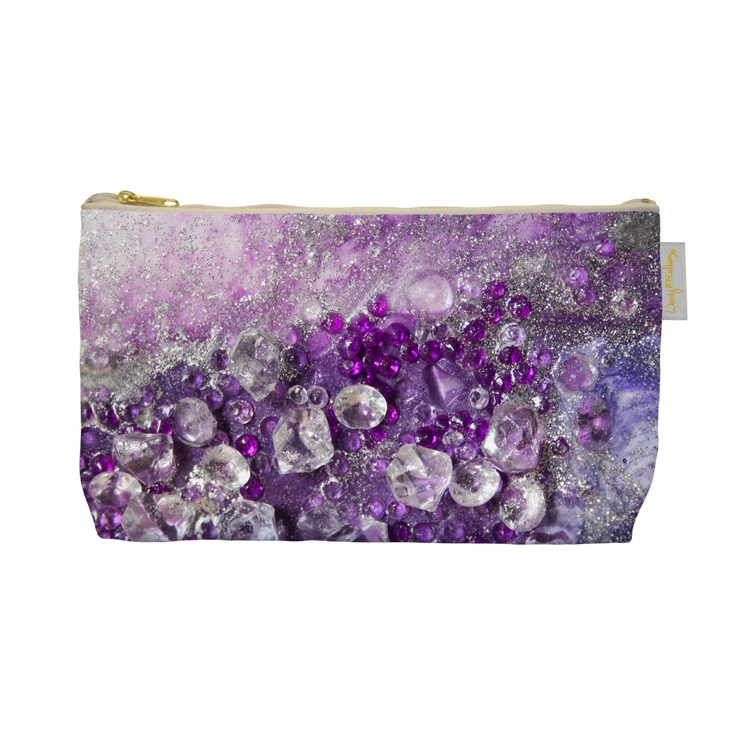 Amethyst Dreams Make Up Bag - Elegance