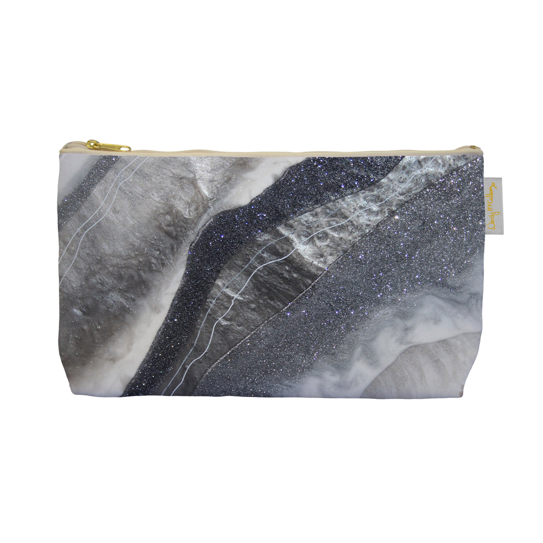 Grey Moonstone Make Up Bag - Grace