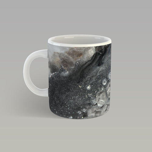 Grey Moonstone Mug - Elegance