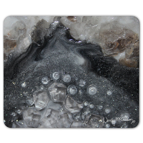Grey Moonstone Place Mat - Elegance