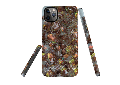 Prosperity snap phone case by Wendy McCallum