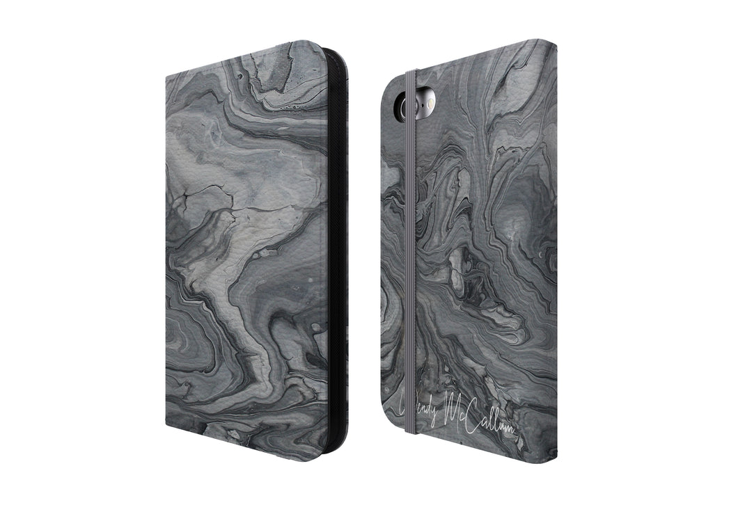 Shades of Grey - Flip Phone Case