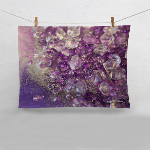 Amethyst Dreams Tea Towel - Opulence