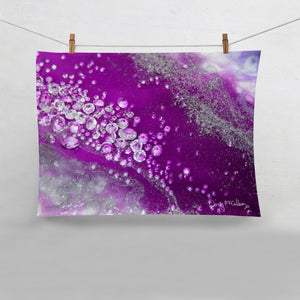 Amethyst Dreams Tea Towel