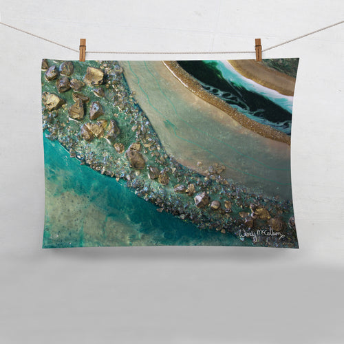 Dioptase Tea Towel - Grace