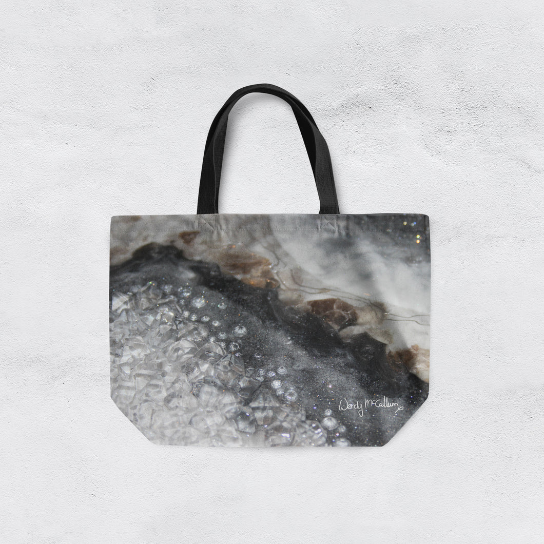 Grey Moonstone Tote Bag - Opulence