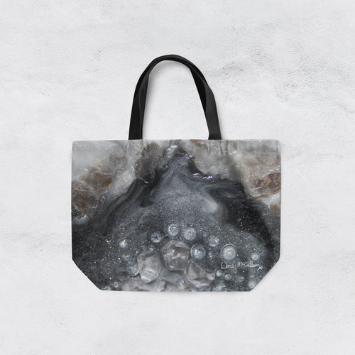 Grey Moonstone Tote Bag - Elegance