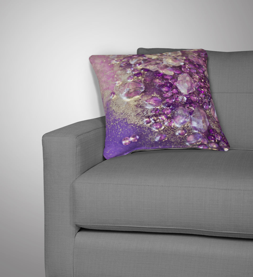 Amethyst Dreams Cushion - Opulence