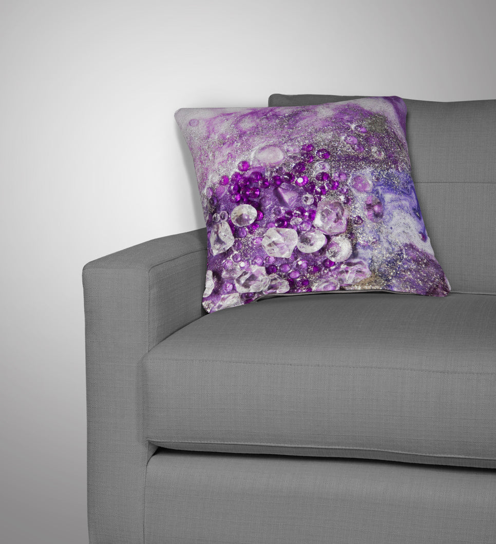 Amethyst Dreams Cushion - Elegance