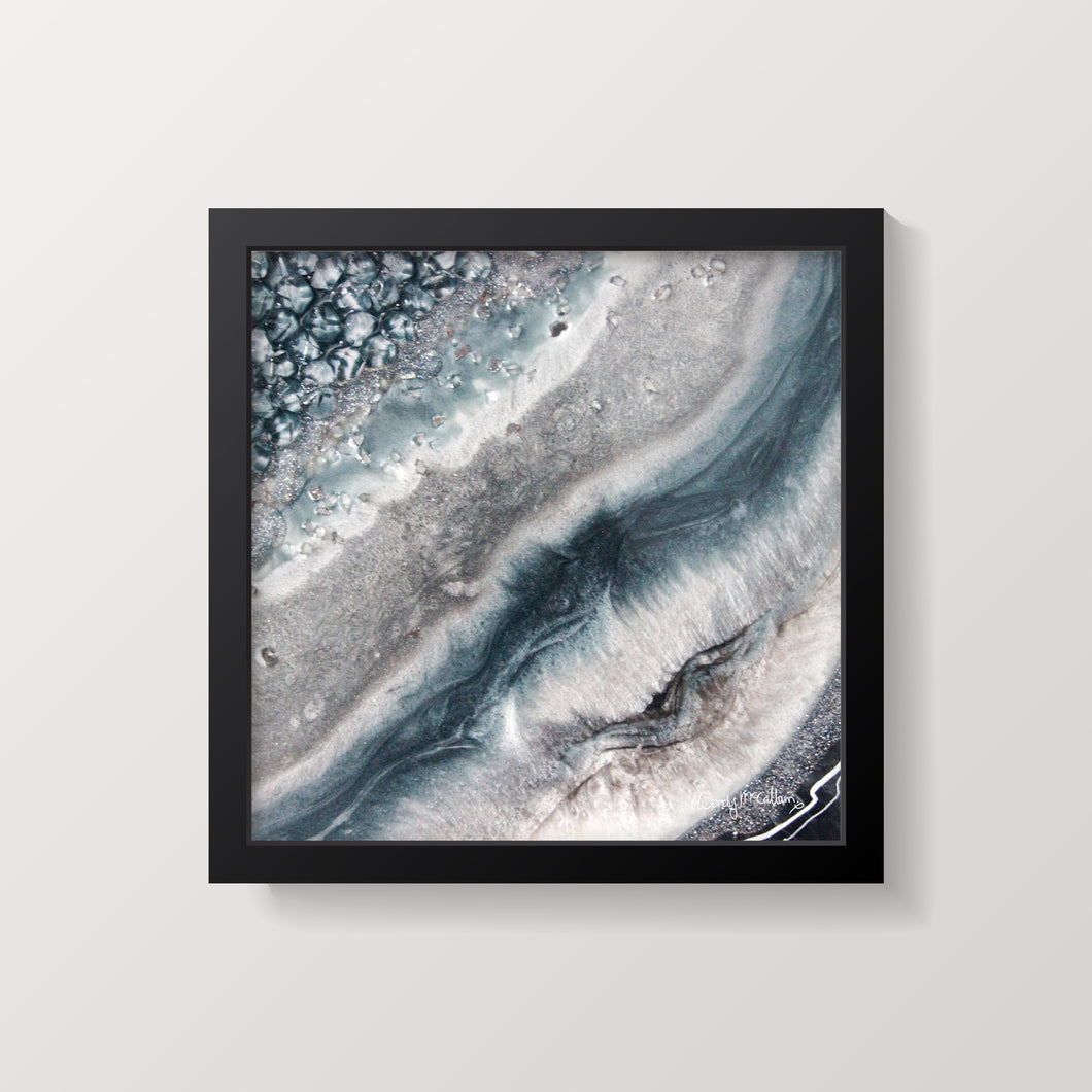 Vista - Grace framed print.