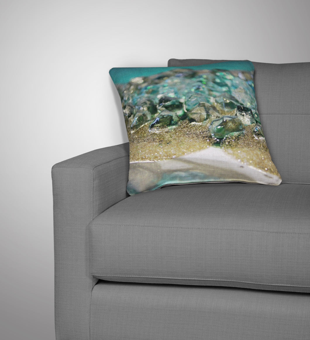 Dioptase Cushion - Elegance