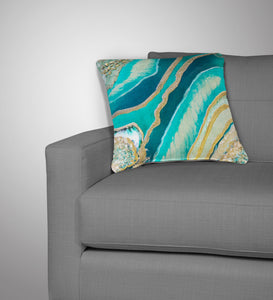 Dioptase Cushion - Splendour