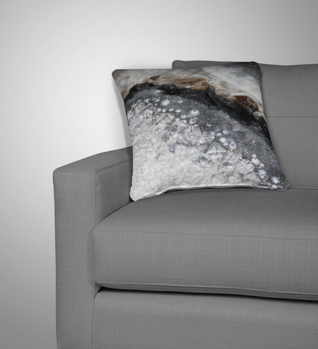 Grey Moonstone Cushion - Opulence
