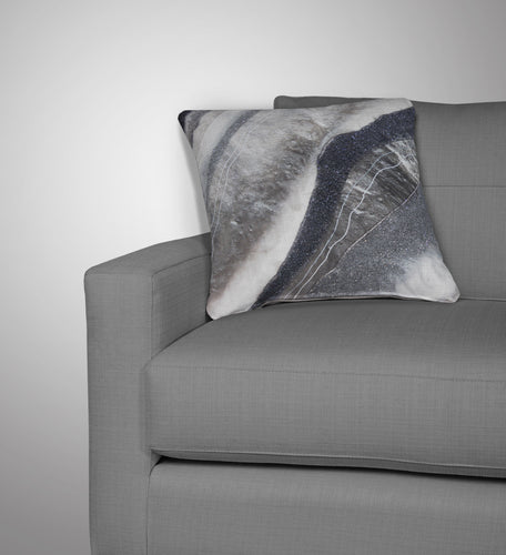 Grey Moonstone Cushion - Grace