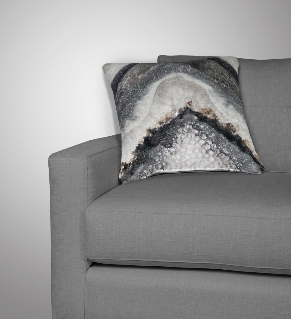 Grey Moonstone Cushion - Splendour