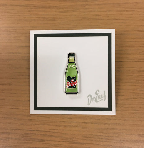 Dr. Enuf Bottle - Collectors Enamel Stick Pin