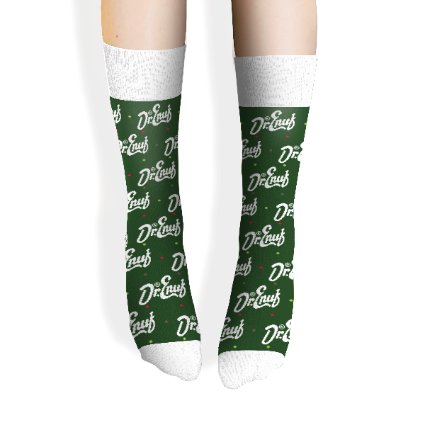 Dr. Enuf Knit Cotton Socks