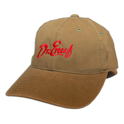 Dr. Enuf Flex-Fit Khaki Hat